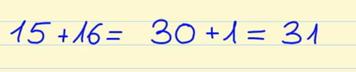 sumar números consecutivos