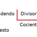 Cómo resolver un ejercicio de división de 2 cifras