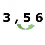 Multiplicar un número decimal por 10