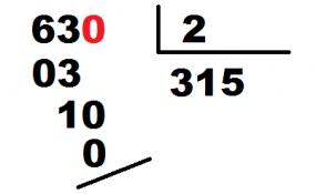 división de decimales