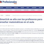 Smartick lanza su Web de Profesores para enseñar matemáticas en el aula