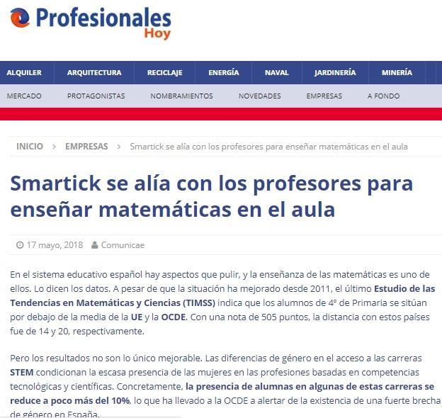 web de profesores