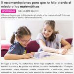 Latina Perú: 5 recomendaciones para perder el miedo a las matemáticas
