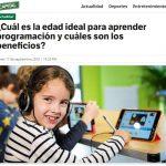 Capital Perú: ¿Cuál es la edad ideal para aprender a programar?