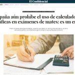 En secundaria, ¿es recomendable permitir calculadoras en los exámenes?