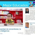 Sobre la capacidad de concentrarse en Mejor Educados de El Mundo