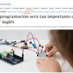 Saber programación será tan importante como hablar inglés