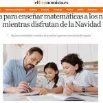 Enseñar matemáticas a los niños mientras disfrutan de la Navidad