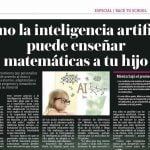 Publimetro México: Cómo la inteligencia artificial puede enseñar matemáticas