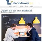 Diario de Ávila: ¿Quién dijo que las matemáticas fueran aburridas?