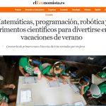 Matemáticas, programación, robótica y experimentos científicos para divertirse en verano