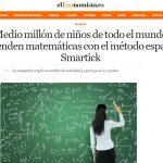 Medio millón de niños en el mundo aprenden matemáticas con Smartick