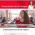 Telemadrid: Concurso de Primavera de Matemáticas, con Smartick