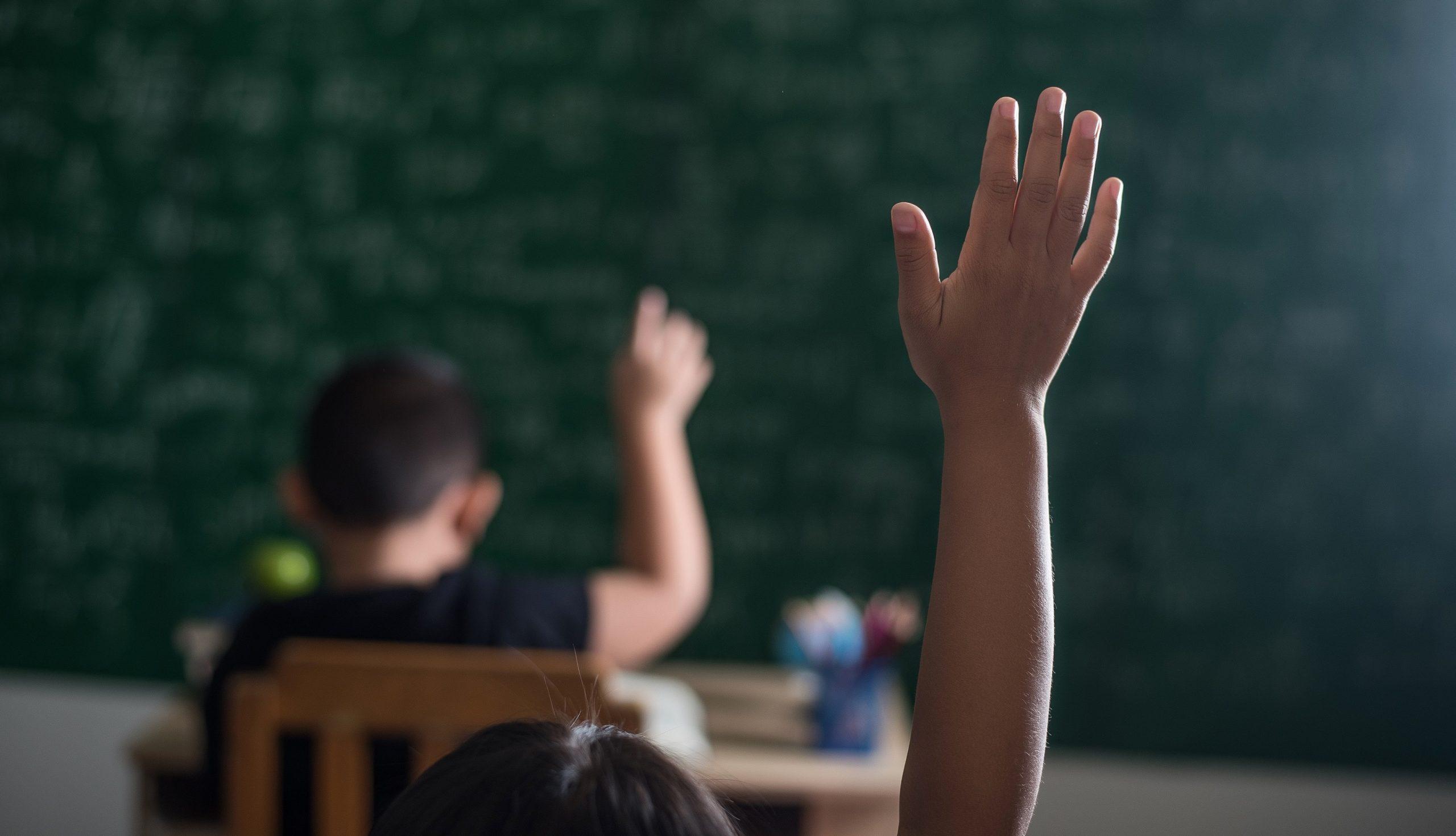 mejorar la educación matemática niños en clase
