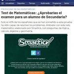 Prueba de matemáticas de Smartick: 6 de cada 10 adultos suspenden