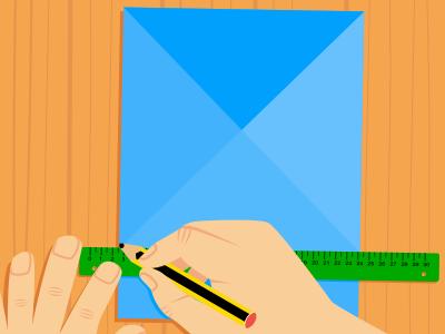 3er paso para construir el tangram