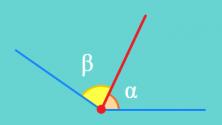 Ejemplo de ángulos consecutivos