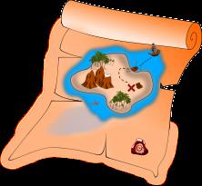 Lecturas cortas: el mapa del tesoro