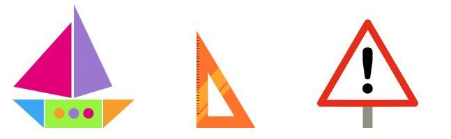 Triángulos: figuras geométricas de 3 lados