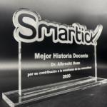 Albrecht Hess, formador de talentos matemáticos, Premio Smartick a la Mejor Historia Docente