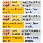 ¿Qué tipos de letra para niños son mejores cuando aprenden a leer?