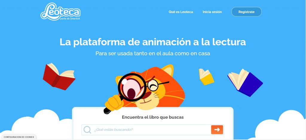 Nueva web de Leoteca