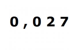 Multiplicar decimal por 10