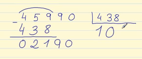 División de 3 cifras