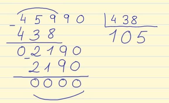 División de 3 cifras V