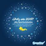 ¡Feliz 2019 a toda la familia Smartick!