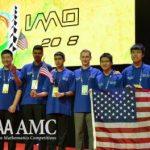 Estados Unidos, campeón de la Olimpiada Internacional de Matemáticas 2018