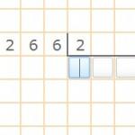Cómo resolver un ejercicio de división por una cifra