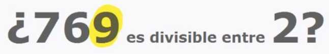 Criterios de divisibilidad del 2