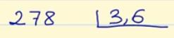 Ejemplo de entero entre decimal