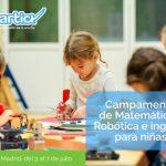 Smartick organiza un campamento de matemáticas, robótica e ingenio para niñas