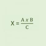 Proporcionalidad inversa, regla de tres inversa