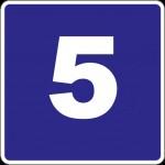 Criterio de divisibilidad del 5