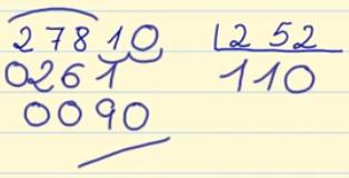 Número decimal entre número decimal