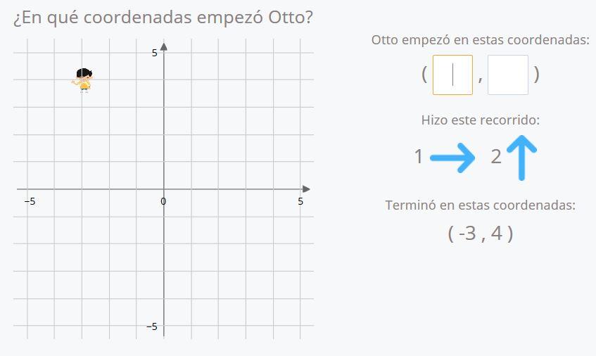 Ejercicios de coordenadas todos los cuadrantes