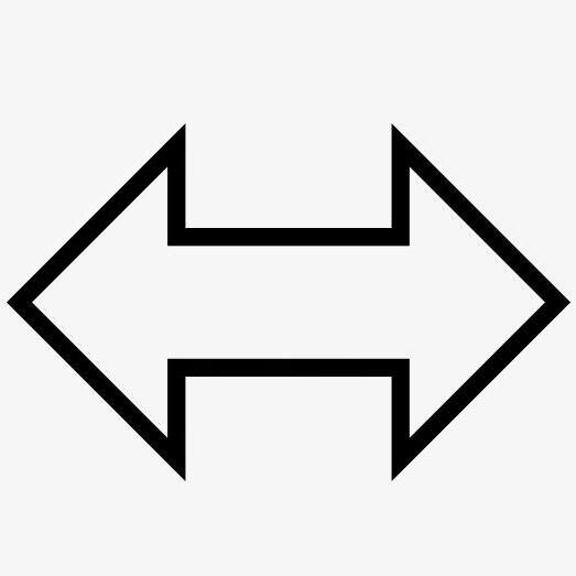 Coordenadas cartesianas, medida horizontal