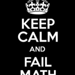 """Yo era malo en matemáticas"", gran error"