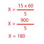 Problemas de regla de 3 inversa