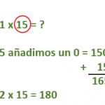 Tablas de multiplicar del 11 y del 12