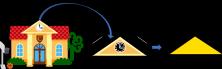 Figura geométrica triángulo