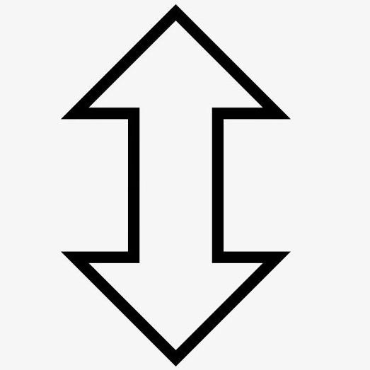 Coordenadas cartesianas, medida vertical